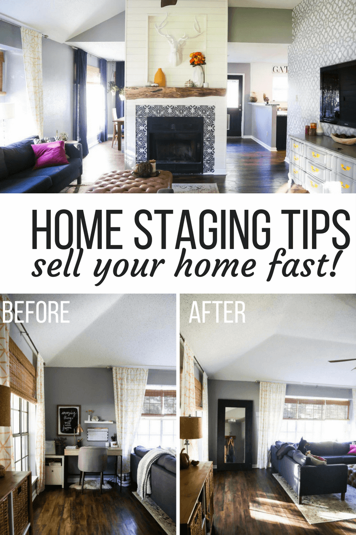Ideas for how to stage your home to sell quickly free home staging tips on a budget and before and after photos of home staging