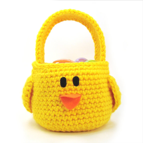 Chick - Easter Basket - Chicken - Toddler purse -