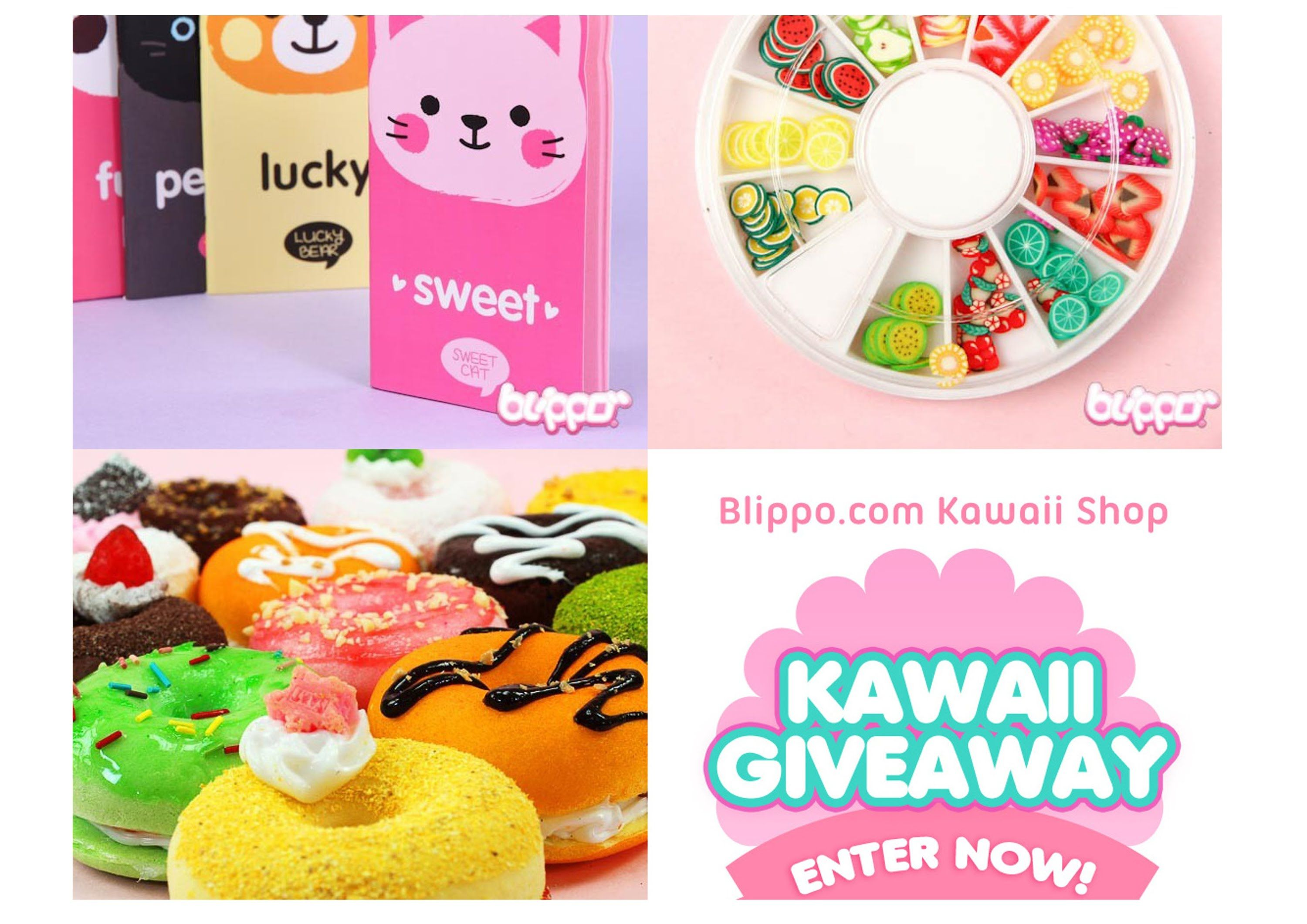 ♥ GIVEAWAY kawaii - Blippo ♥ Open