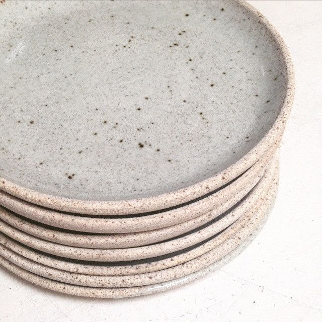 This limited edition collection of plates have been hand thrown on a potters wheel by Shelley Pant & Shelley Panton Hand Thrown Plates | Nick nacks Kitchen ware and ...