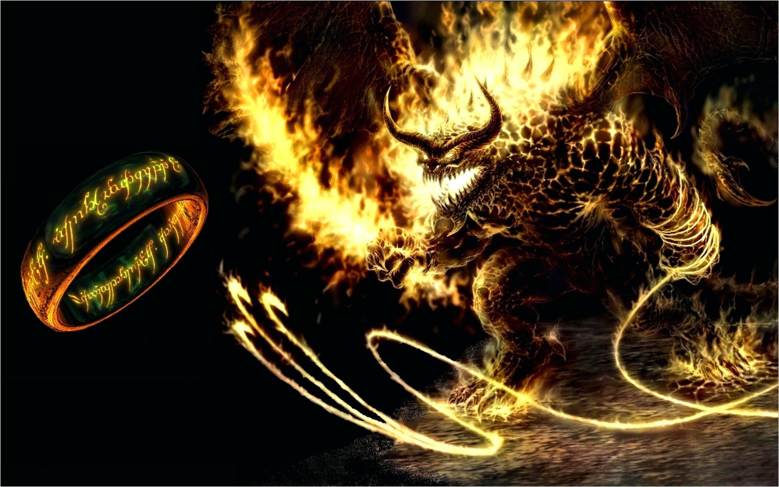 Balrog Lotr Wallpaper 4k Monster Hunter World Wallpaper Monster Illustration Beauty And The Beast Movie