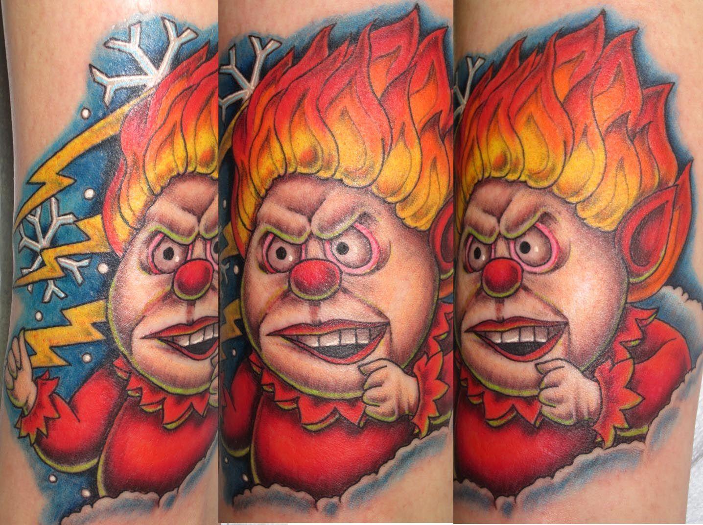 Heat miser tattoo by lisa murphy wwwagainstthegraintattoo