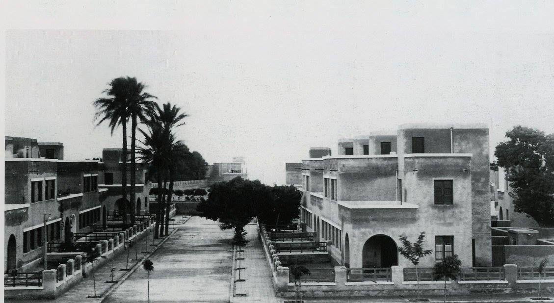 Barrio de ciudad jard n almer a proyectado por el for Casa ciudad jardin almeria