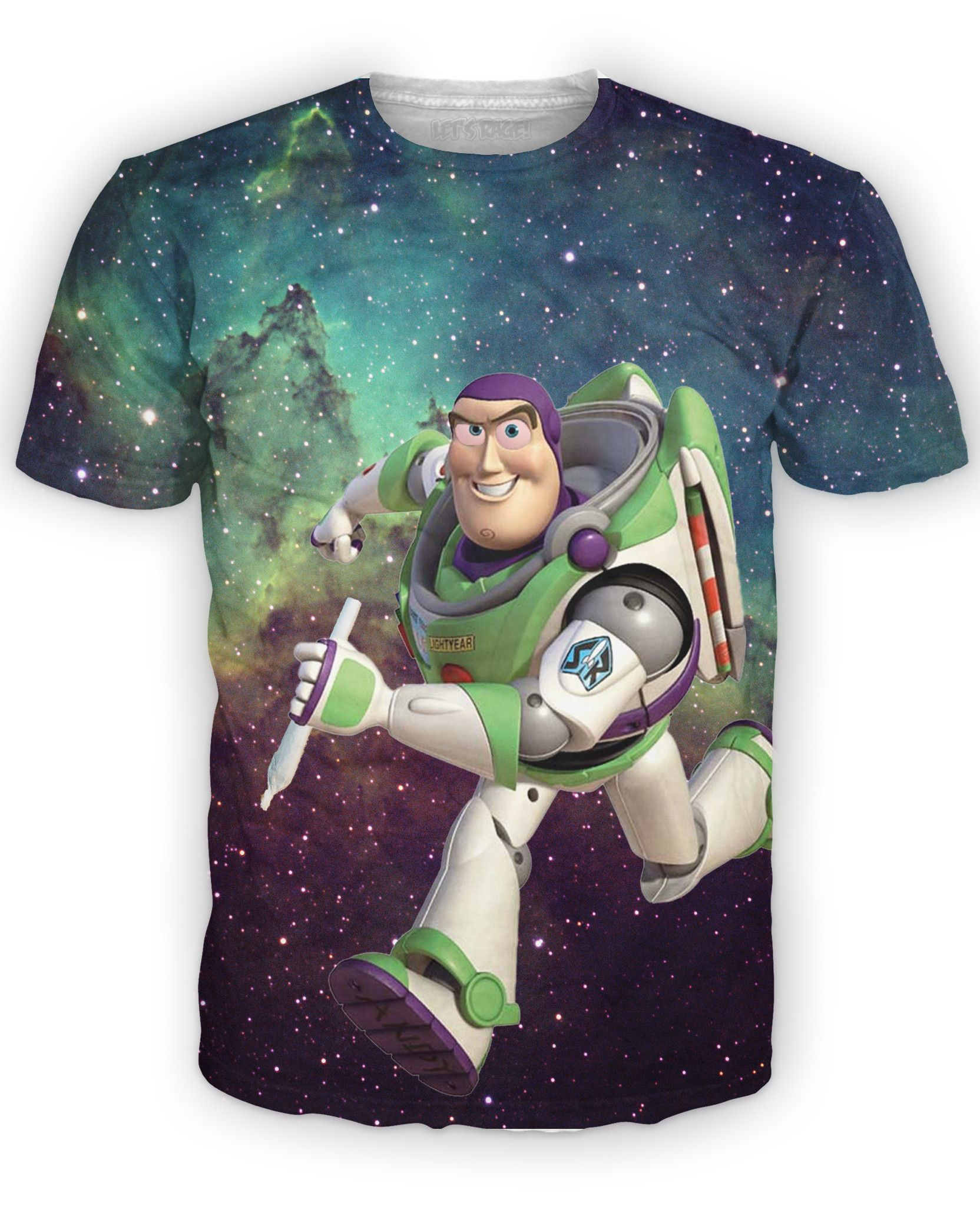 Buzz Lightyear T-Shirt – RageOn! - The World's Largest All-Over-Print Online Store