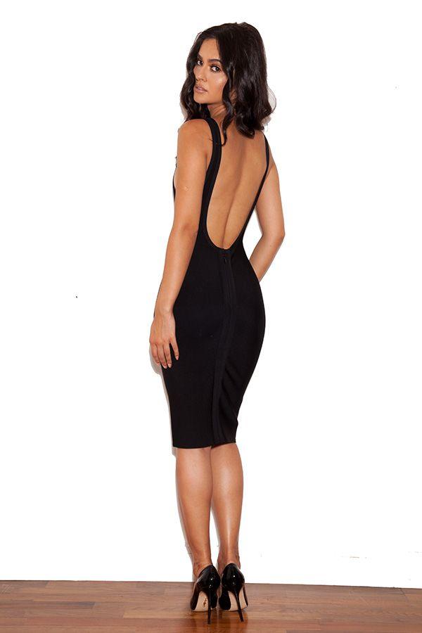 Backless bandage dress cheap