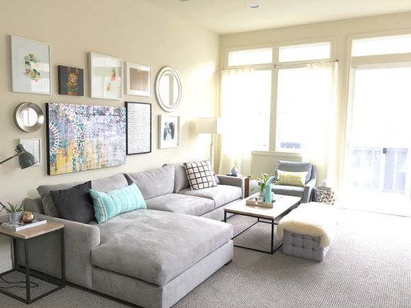 Gray Sofas Why I Love Them And A Roundup Of Favorites Grey Sofa Inspiration Modern Grey Sofa Modern Room