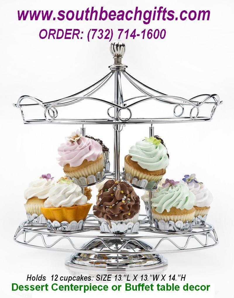 Carousel Cupcake table Centerpieces for Carousel horse theme ...