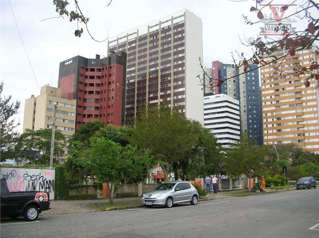 Terreno comercial à venda, Mercês, Curitiba - TE0012.