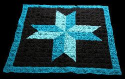 Amish Star Lapghan