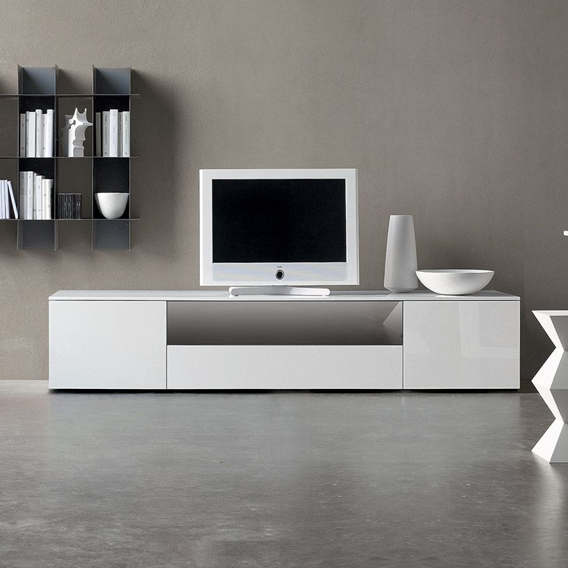 Space TV Unit, With Stop Sol Glass Door (ST240D)