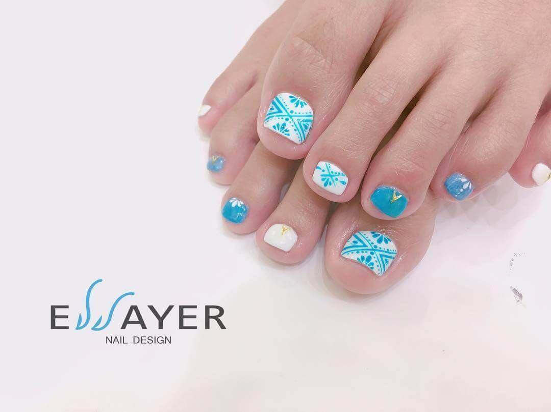 50 Toe nail art design   Nail art - nails - diy   Pedicure designs ...