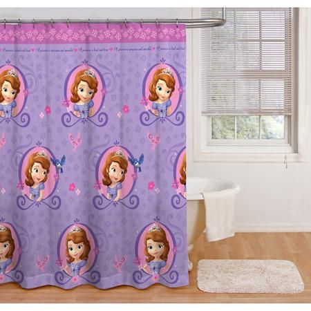 Sofia The First Shower Curtain Baby Room Wall Sofia The First