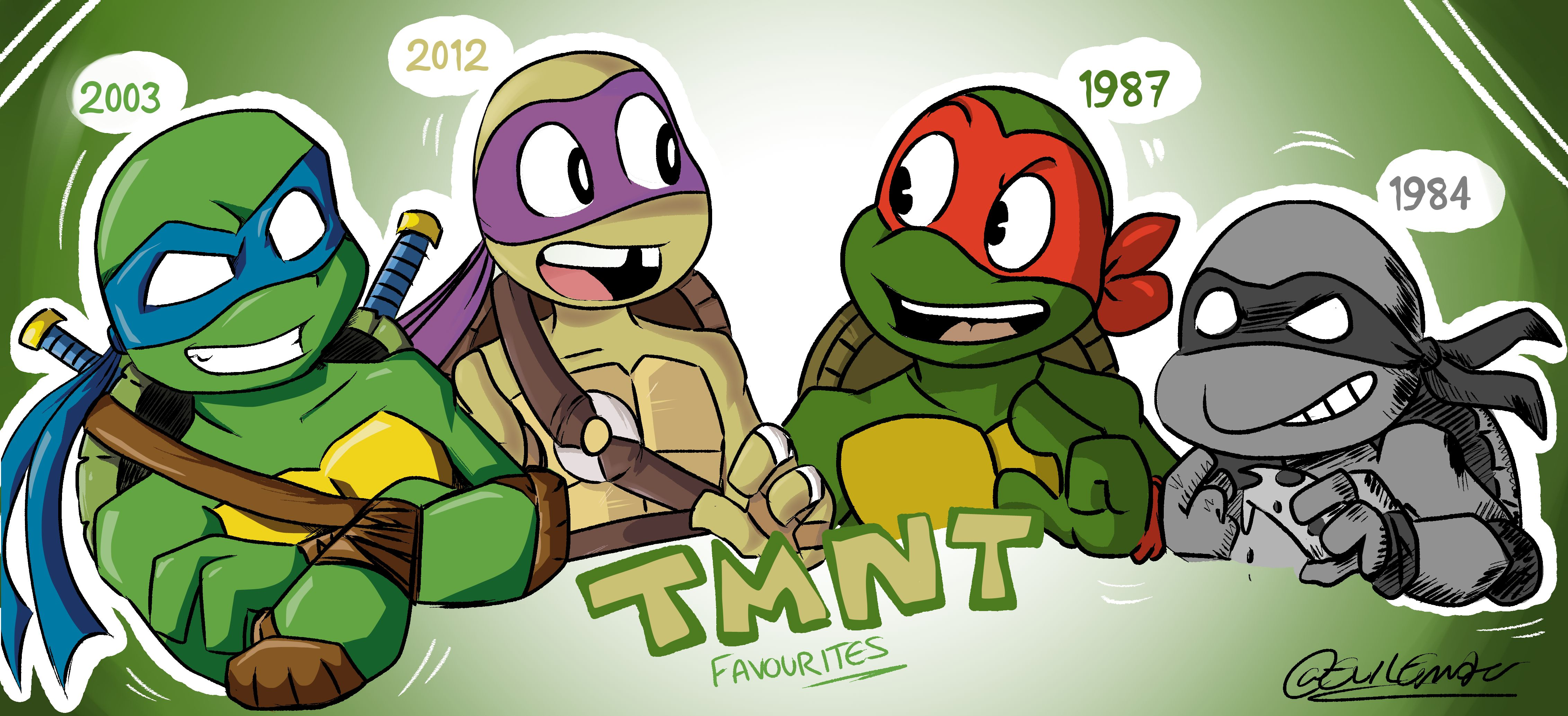 Favourite Turtles From The Ages!