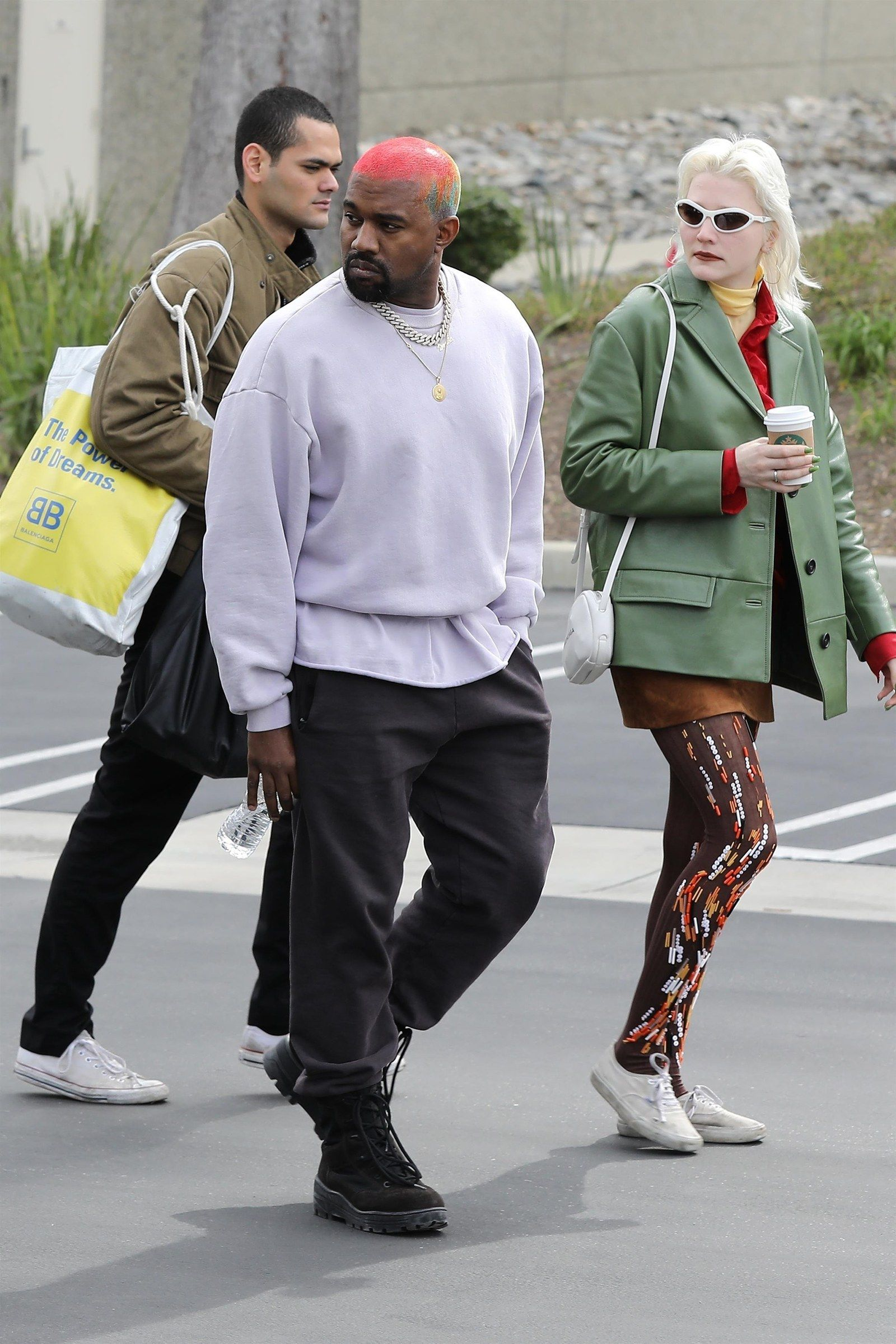 Who Is Kanye West S Super Stylish Companion Kanye West Outfits Kanye West Style Kanye West