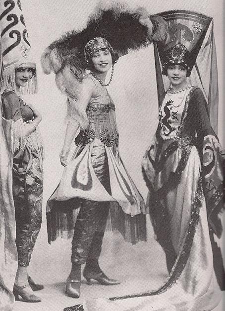 Vintage Old Photo reprint of African American Black People Vaudeville Dancers