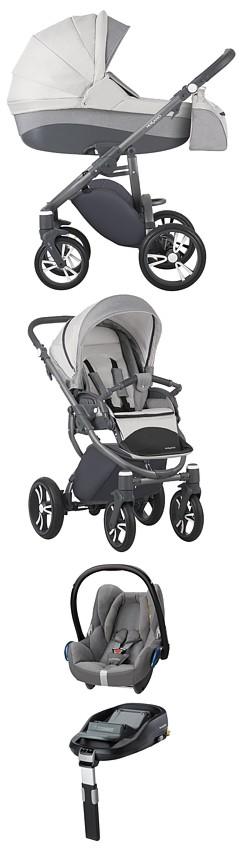 Wozek 4w1 Bebetto Holland 2017 Spacerowka Gondola Fotelik Maxi Cosi Cabrio Baza Familyfix Kurier Gratis Maxi Cosi Baby
