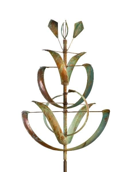 """Desert Lily"" wind sculpture Lyman Whitaker"