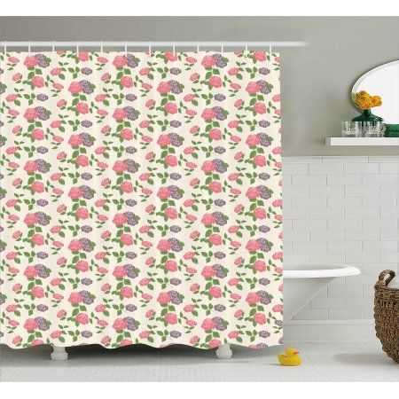 Elegant Romantic Shower Curtains
