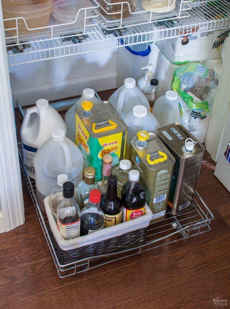 Pantry Makeover and Organization Ideas - The Navage Patch #pantryorganizationideas