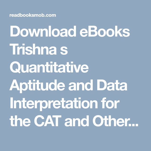 Download ebooks the power pdf mobi by naomi alderman online for download ebooks trishna s quantitative aptitude and data interpretation for the cat and other mba examinations fandeluxe Gallery