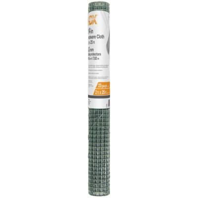 Hdx 1 4 In X 2 Ft X 25 Ft Hardware Cloth 308212hd The Home Depot Hardware Cloth Hardware The Home Depot