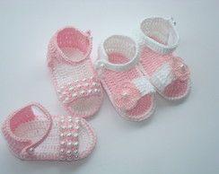 sandalinhas de bebê