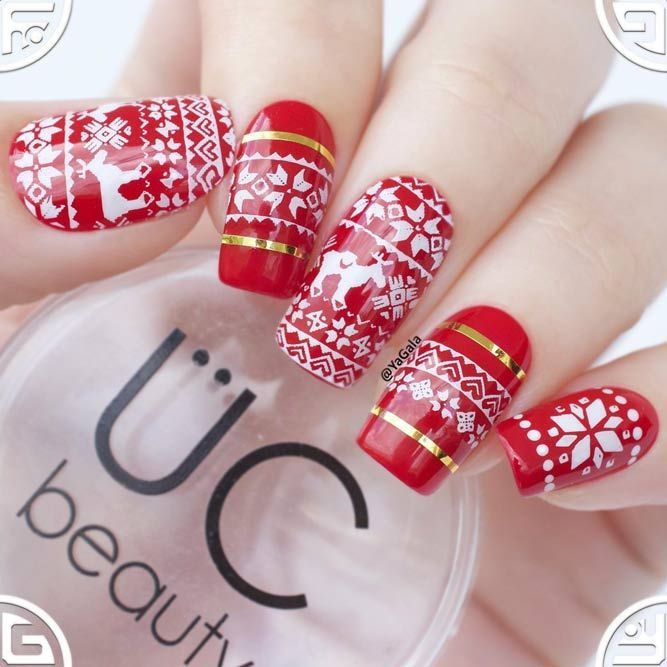 21 Season Nails Art Ideas That Youll Want To Try Right Now Xmas