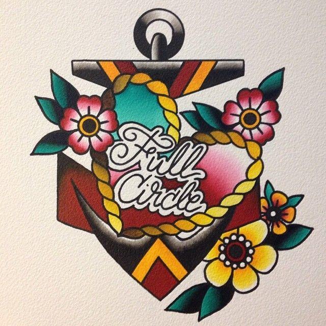 Michelle Rubano - Full Circle Tattoo - San Diego, CA.