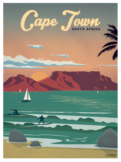 Travel Posters World Destinations