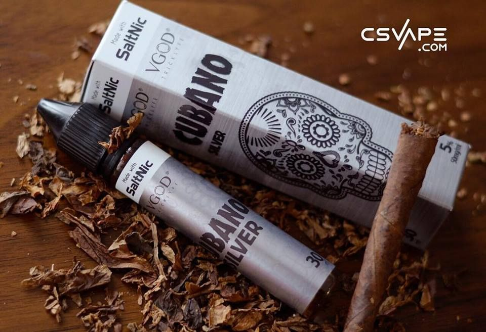 VGOD Cubano Silver Ejuice | E-Liquid Offers | Vanilla