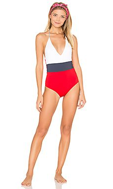 Chase One Piece Color Block Swimsuit