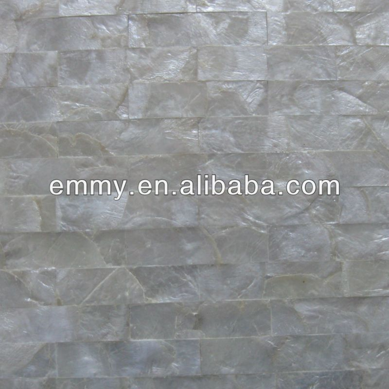 Brick White Capiz Mother Of Pearl Wall Tile Shell Wall Panel Find Complete Details About Brick White Ca Shell Mosaic Tile Decorative Wall Panels Shell Mosaic