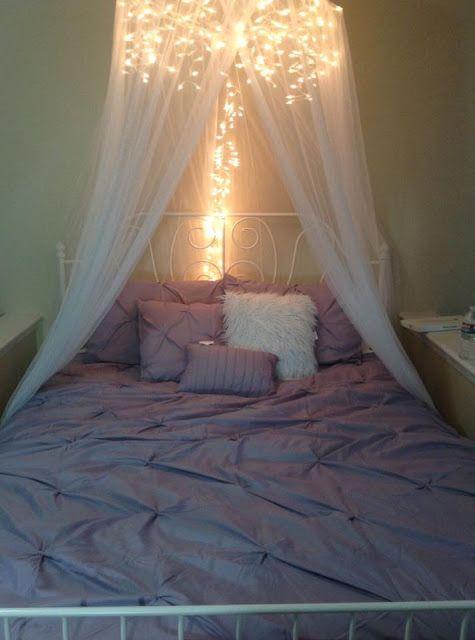 m s y m s manualidades decora tu habitaci n con series de luces decoraci n pinterest. Black Bedroom Furniture Sets. Home Design Ideas