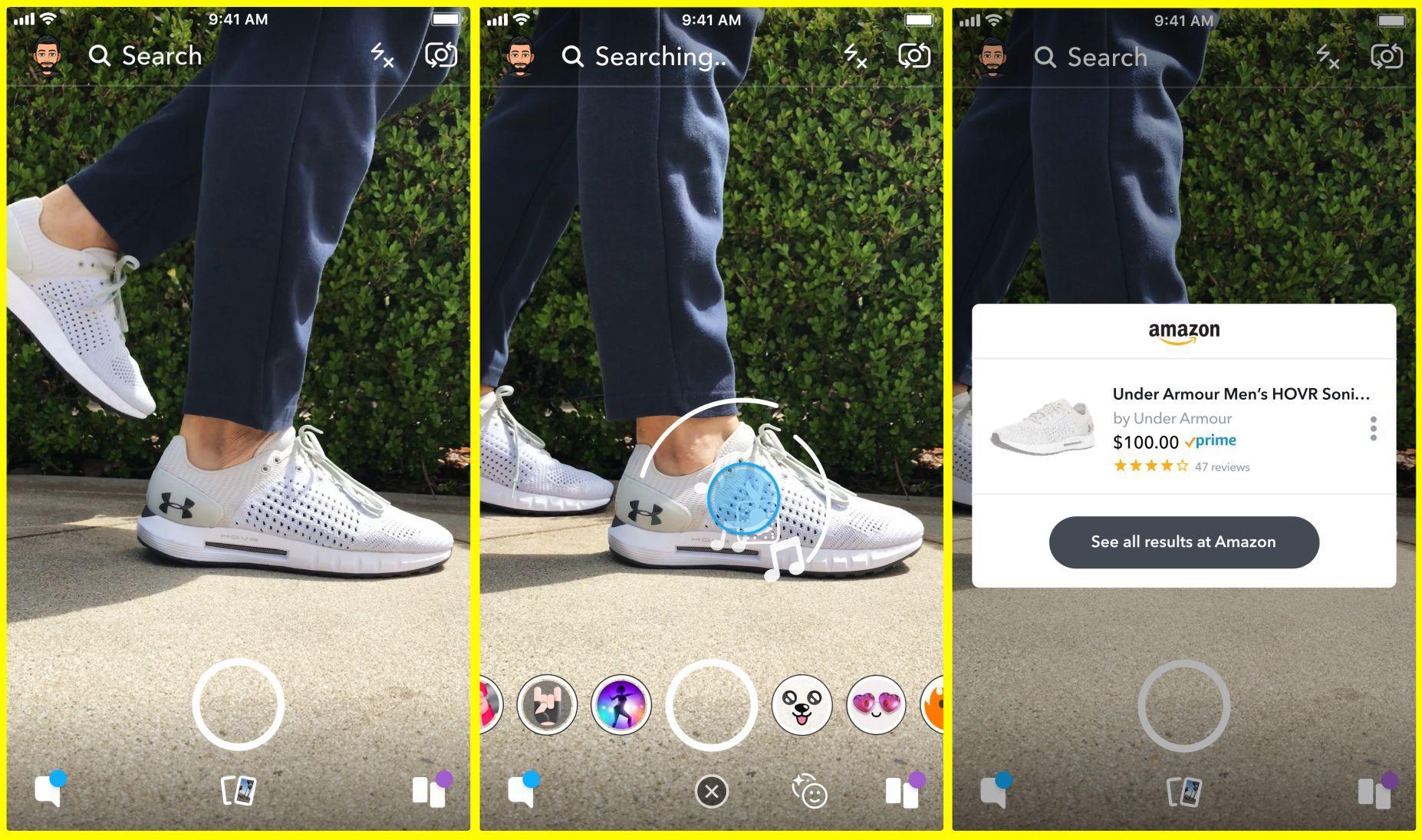 الخبر غير متاح Visual Search Tool Snapchat Best Social Media Campaigns