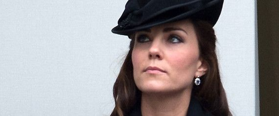 Kate Middleton Is Appropriately Sombre At Remembrance Service