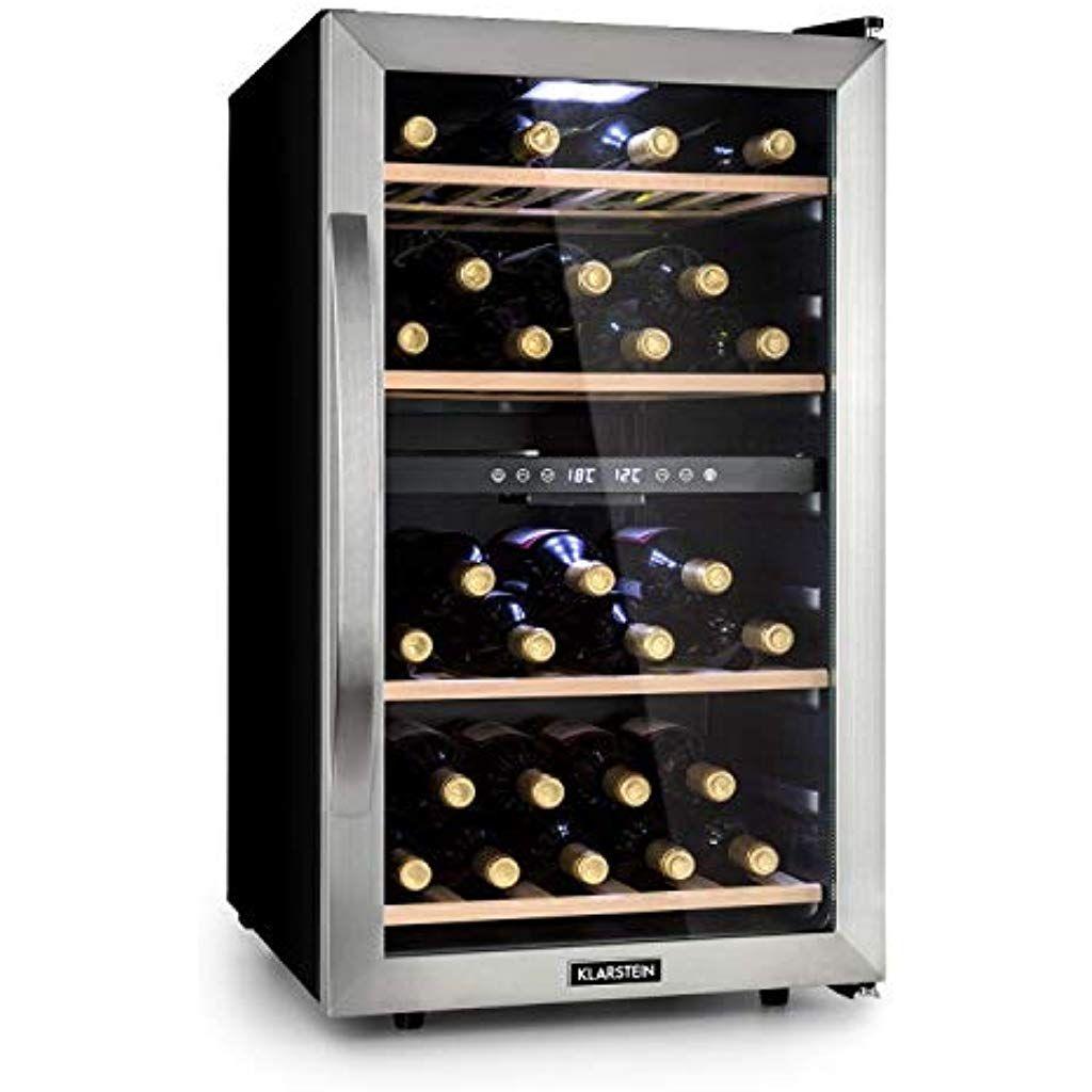 Klarstein Vinamour 45D Weinkühlschrank Unterbau/Einbau 835