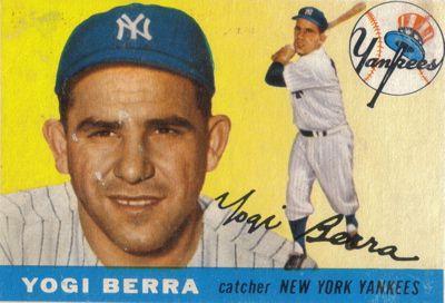 13 Social Media Lessons From Yogi Berra This Is A Great Idea For A Story Yogi Berra Baseball Card Values Play Baseball