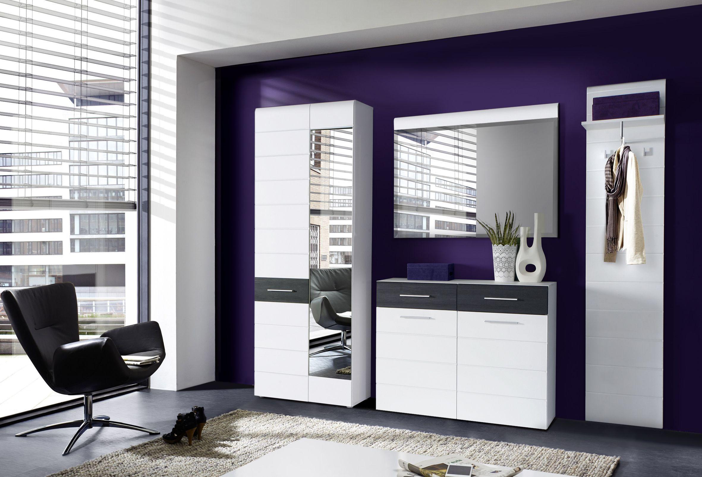 polaris garderoben set 4 tlg regenschirme handtaschen schuhe und m ntel moderne. Black Bedroom Furniture Sets. Home Design Ideas
