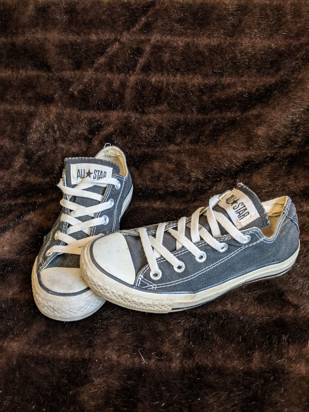 Converse with some character! No tears just normal wear