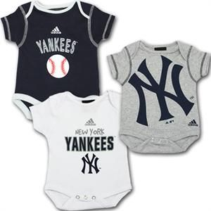 d958f2b149c99 Can t decide what to get your little Yankees fan  Get this 3 pack and you  don t have to choose.  Yankees  babyfans