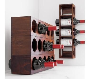 Wall Hanging Wine Rack greek_goddess18: decor/accessories - crate and barrel - shesham