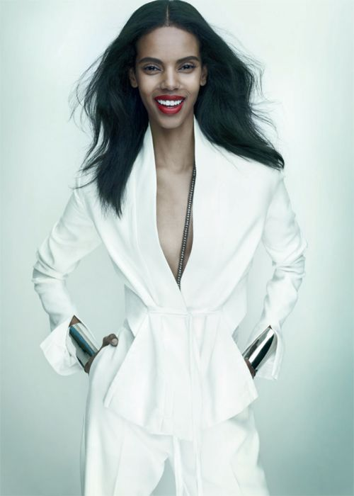 Cover Girl: Model Grace Mahary for Elle Canada May 2013.   Photograph by Leda & St. Jacques