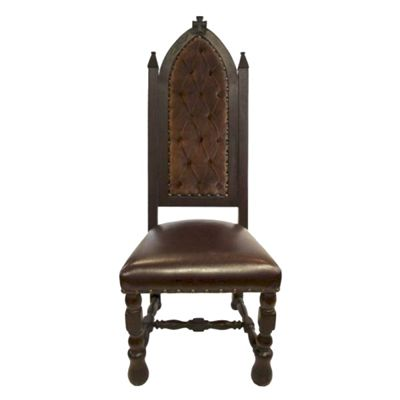 Royale Cross Embossed Crocodile Velvet Leather Old World Accent Chair Dining Chairs And Emboss