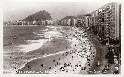 Av Atlântica Copacabana Anos 50 | A muralha já está de pé. P… | Flickr