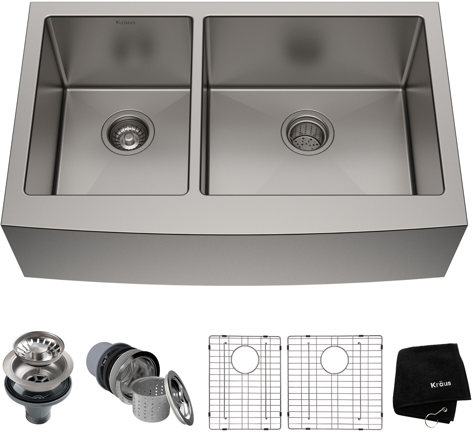 Kraus Standart Pro Series Khf20433 Double Bowl Kitchen Sink