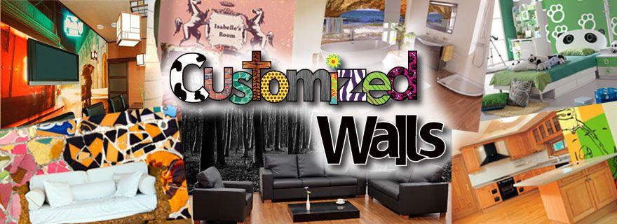 Create your own Custom Print Wall Murals