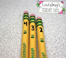 Ladybug's Teacher Files: The Great Pencil Challenge (managing pencils!)