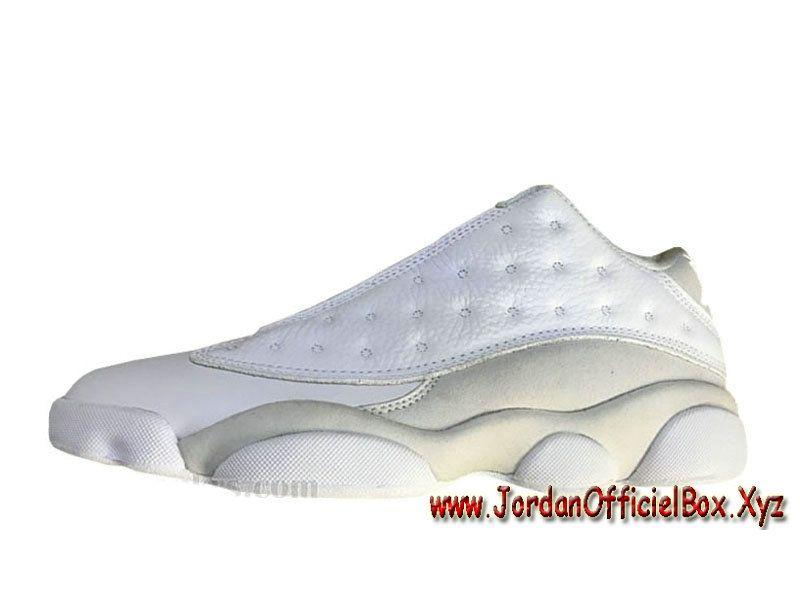 Air Jordan 13 Retro Low Pure Money 310810-100 Chausures Jordan Basket Pour  Homme Blance