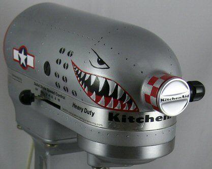 fighter nose art kitchenaid - I NEED THIS