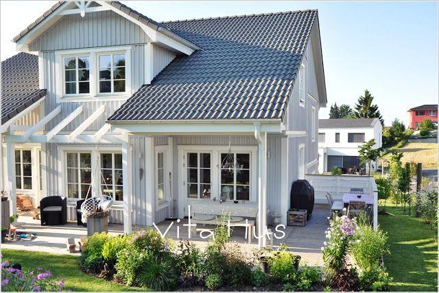 Schwedenhaus grau  VitaHus * Schwedenhaus ♡ | Someday | Pinterest | Schwedenhaus ...